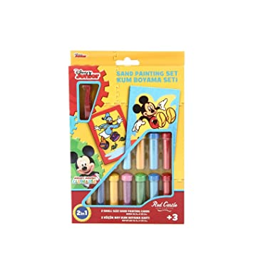 Disney Mickey Mouse 2in1 Sand Painting Set Ds 01 Amazoncouk Toys