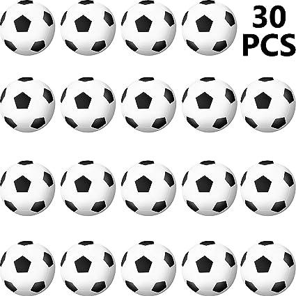 SOTOGO 40 Pieces Football Stress Ball Stress Mini Ball Foam Squeeze Sports Ball Foam Squeeze Sports Ball for School Carnival Reward Party Bag Gift Children Gift