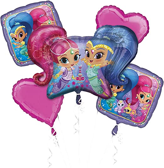 Amazon.com: Shimmer & Shine ramo de globos: Kitchen & Dining