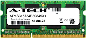 A-Tech 8GB Module for Dell Precision M4600 Laptop & Notebook Compatible DDR3/DDR3L PC3-14900 1866Mhz Memory Ram (ATMS316734B30845X1)