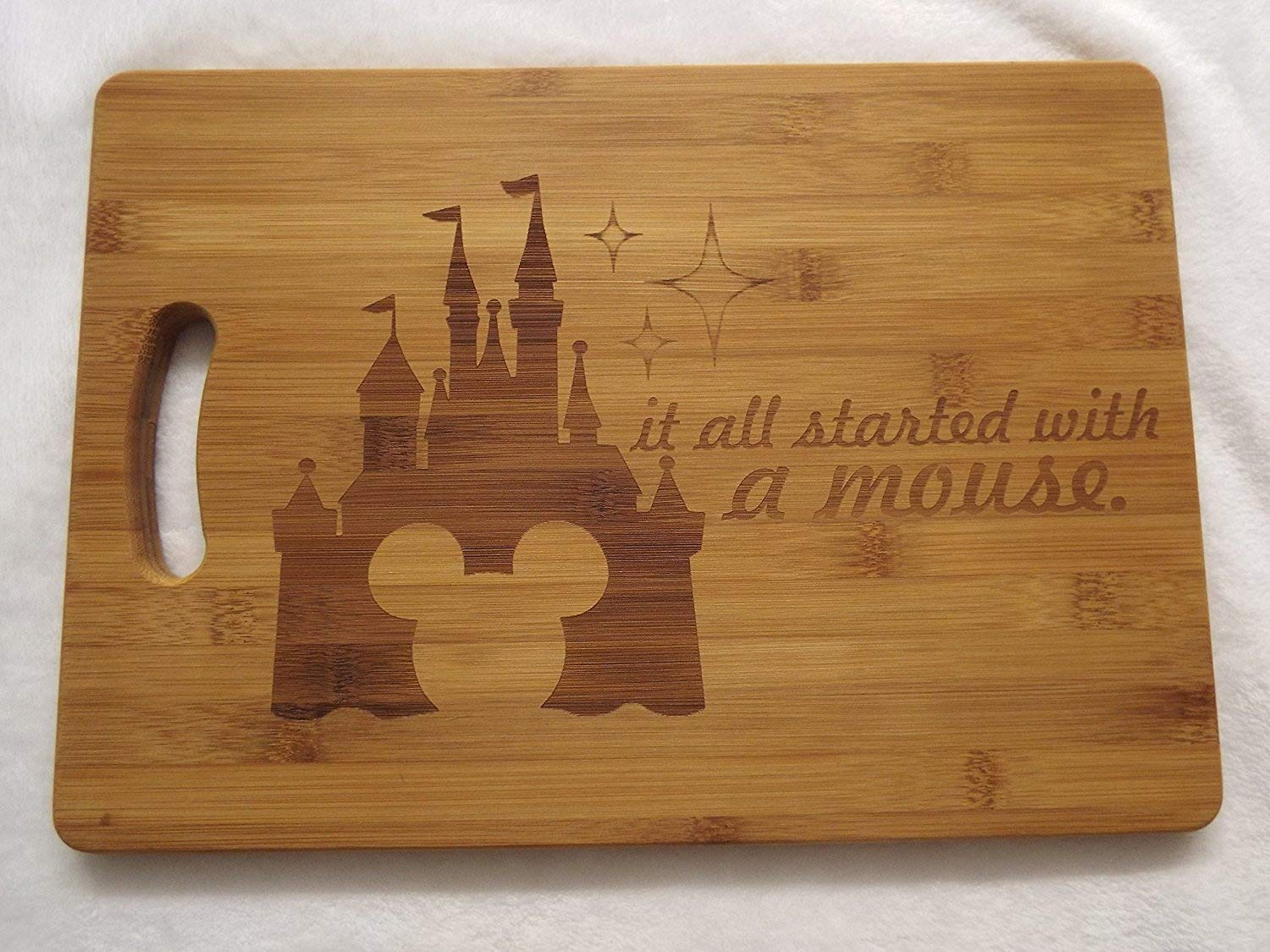 It all started with a mouse disney inspired chopping board Mickey Mouse LBS4ALL
