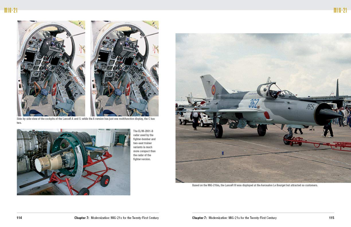 Buy The MiG-21: The Legendary Fighter/Interceptor in Russian and Worldwide  Use, 1956 to the Present Book Online at Low Prices in India | The MiG-21:  The ...