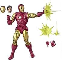Marvel Legends Series Iron Man - Figura de acción de 15 cm coleccionable y vintage inspirada en las historietas, en...