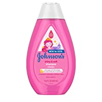 Johnson's Shiny & Soft Tear-Free Kids' Shampoo with Argan Oil & Silk Proteins, Paraben...