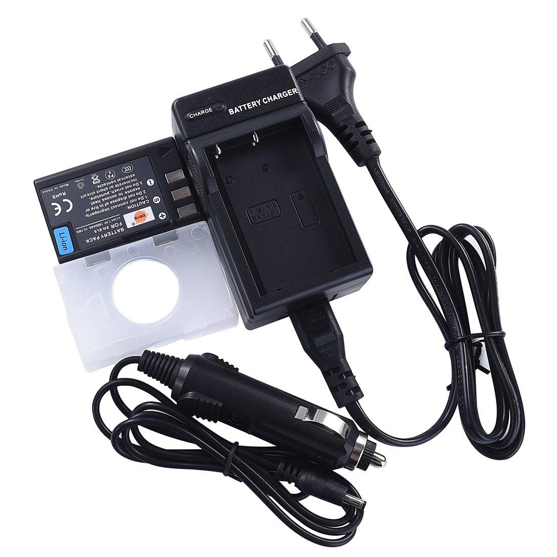 DSTE Ricambio Batteria + DC15E Caricabatteria per Nikon EN-EL9 EN-EL9A D40 D40x D60 D3000 D5000 DST Electron Technological Co. Ltd GJLF114B1G