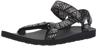 6d5d710f778f3 Teva Men s M Original Universal Sandal Boomerang Black White 7 Medium US