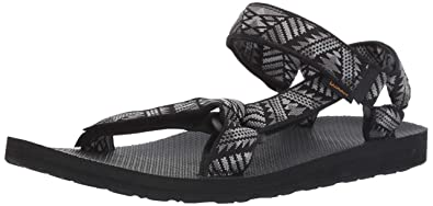 c3a311a322a9 Teva Men s M Original Universal Sandal Boomerang Black White 7 Medium US