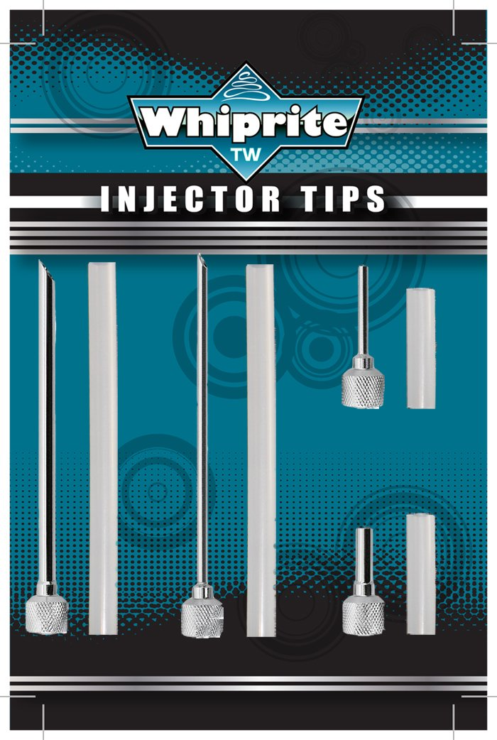 Stainless Steel Injector Tips for Cream Whipper Creamright