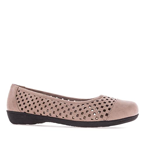 Andres Machado. AM5153.Bailarina Picado.Mujer.Tallas Grandes. 42/45.: Amazon.es: Zapatos y complementos