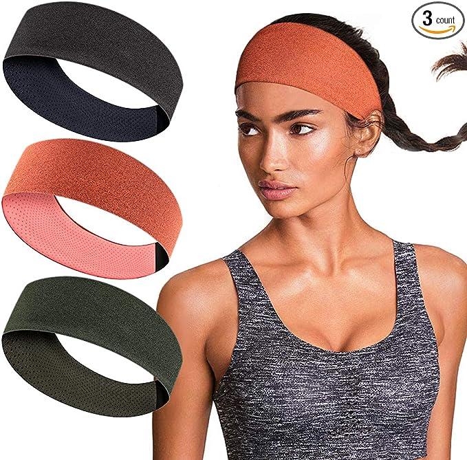 Details about  /Outdoor Fleece Ponytail Headband Yoga Running Fitness x Sweatband Warmer 1 T8K3