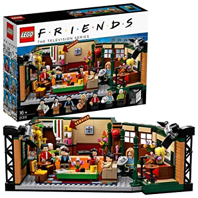 LEGO Friends Central Perk 21319 Black: Toys & Games
