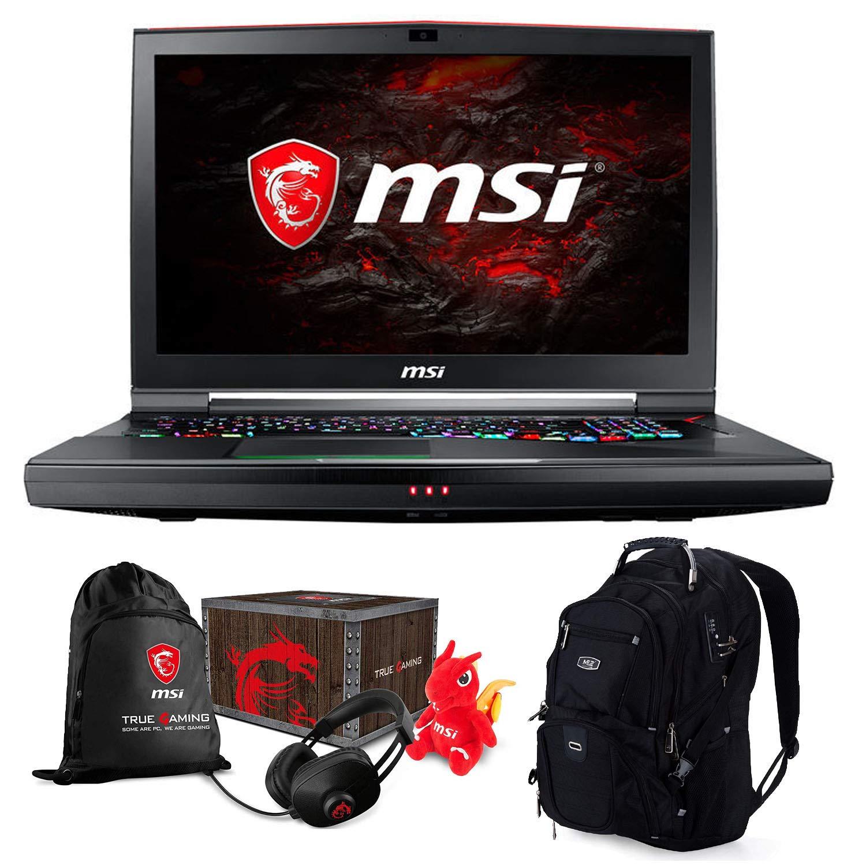 【日本未発売】 MSI FHD GT75 TITAN-015 Gaming and Business Laptop Pro) (Intel 8th VR Gen i7-8750HK, 64GB RAM, 2TB HDD + 2TB PCIe SSD, 17.3