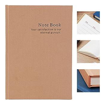 Cuaderno ejecutivo gobernado | Bloc de notas A5, cubierta dura grande, 296pp | 80gsm | Caqui | 8,4 x 5,7 pulgadas: Amazon.es: Oficina y papelería