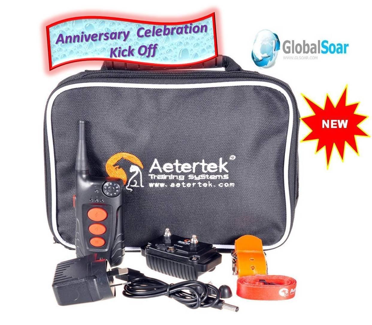 Aetertek 918C-1 600 Yard 9 Level 1 Dog Training Anti Bark & Waterproof Collar