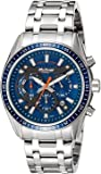 Titan Octane Chronograph Blue Dial Men's Watch -90077KM02