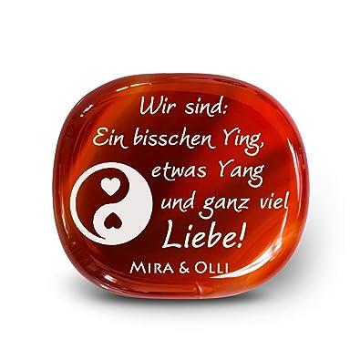 My Pebbles Persönliches Geschenk Mit Gravur Der Edelstein