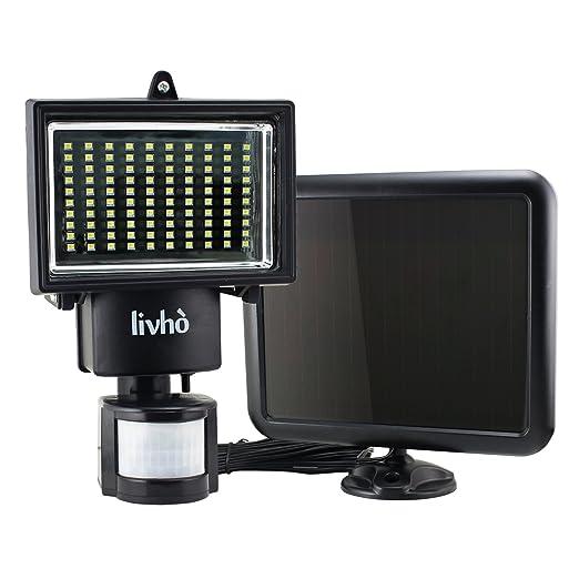 152 opinioni per Livhò Faro ad Energia Solare 100 LED, con Pannello Solare Separato
