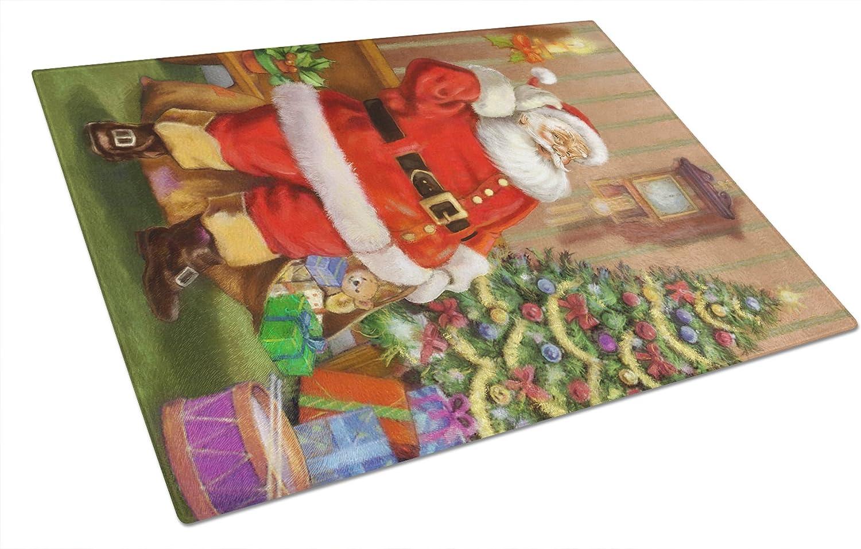 Carolines Treasures Wash Day Glass Cutting Board Multicolor Large