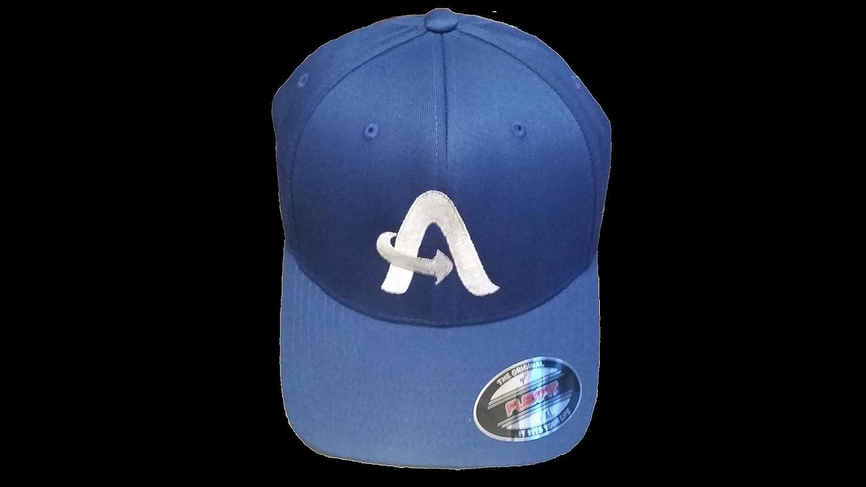 Aaye Fitted Baseballキャップ SM/MED Blue/ White B00RDMS6O0