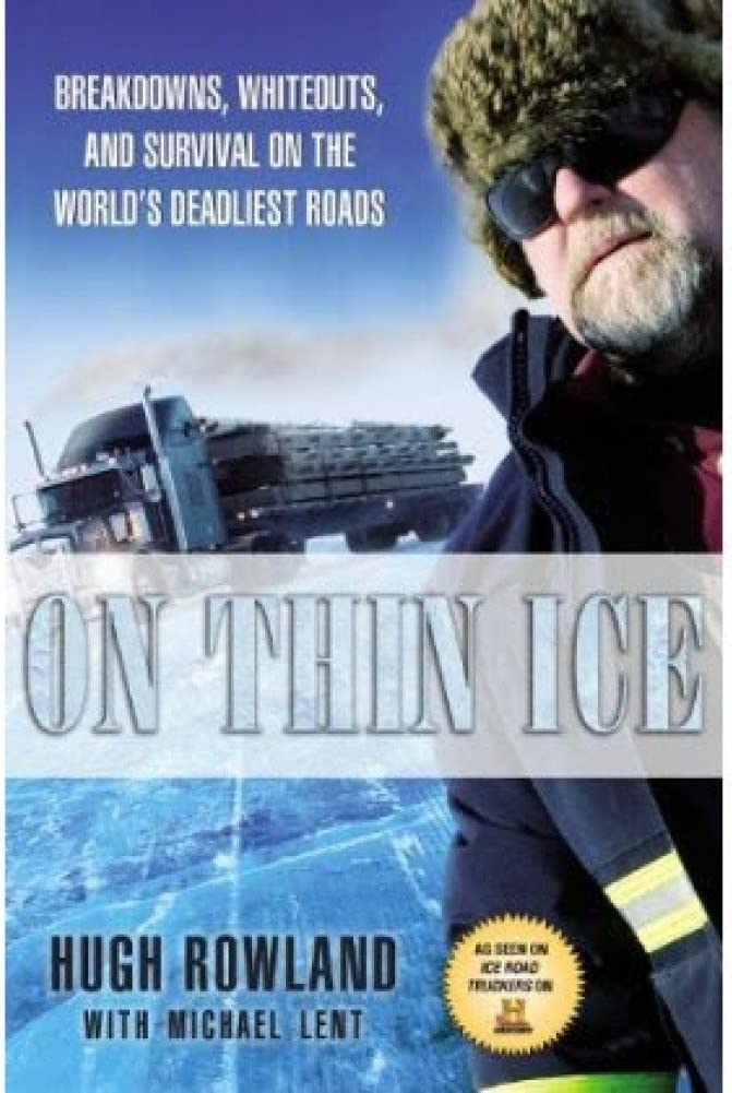 On Thin Ice Hardcover Book