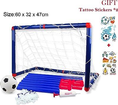 Georgie Porgy Portátil de fútbol para niños Goal Gate Baby Balón ...