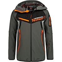 Geographical Norway Men's Softshell Jacket - TOSCOU grey