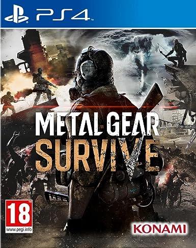 Metal Gear Survive - PlayStation 4 [Importación francesa]: Amazon ...