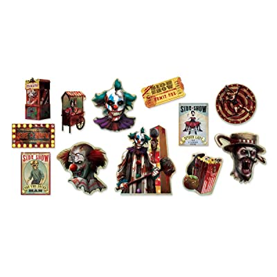 Halloween Side Show | Value Pack Cutouts: Toys & Games