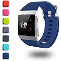 Fitbit Ionic Bands,ZriEy TPU Replacement Strap Wristband for Fitbit Ionic Smartwatch Fitness Band Man Woman,No Tracker