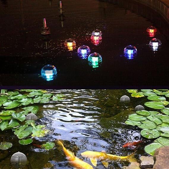 Coquimbo luz solar jardín, flotante estanque piscina luz ...