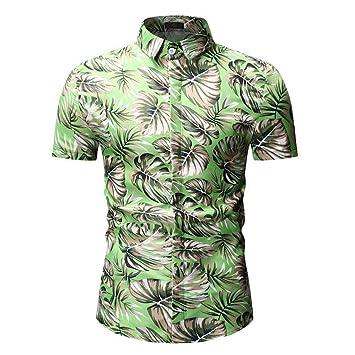 Xlala Camisa Tipo Polo Hombre, Informal, Ajustada, Manga Corta ...