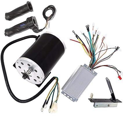 Amazon com: TDPRO 48V 1800W Brushless Electric Motor and