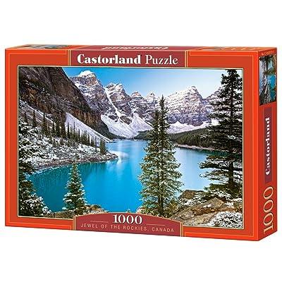 Castorland C-102372-2 - Puzzle - Le Joyau des Rocheuses - 1000 Pièces