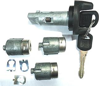 CHEVY GMC OEM 95-97 Ignition Key Switch Cylinder & Door Lock Set W/ 2 Keys