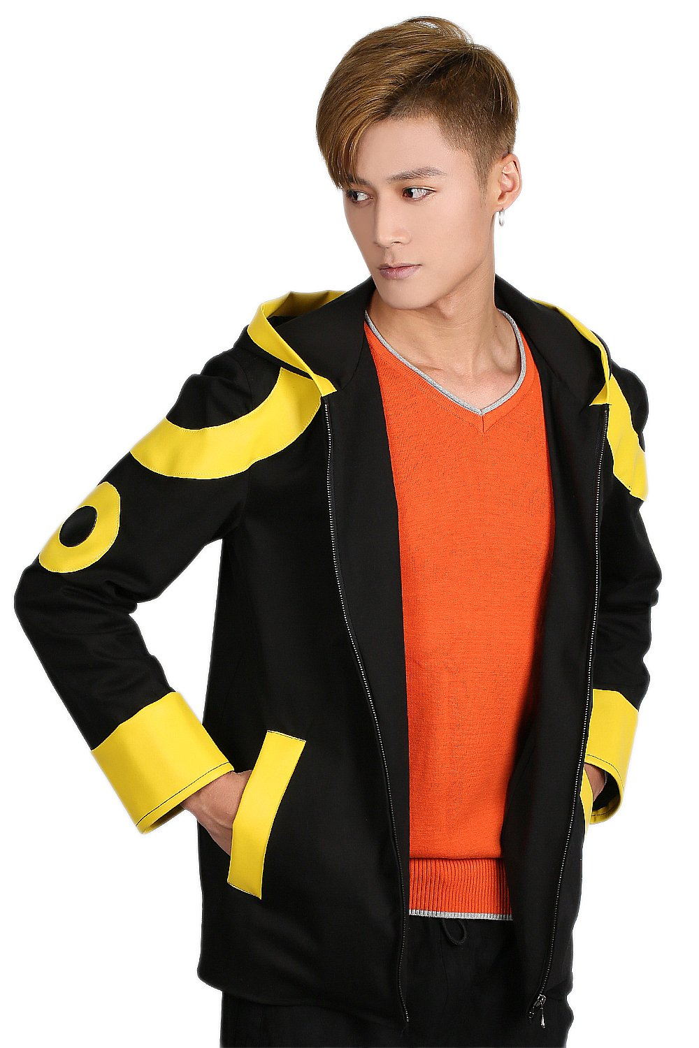 Mystic Messenger Costume Deluxe Cotton Coat and Long-sleeve Tees Jacket XL