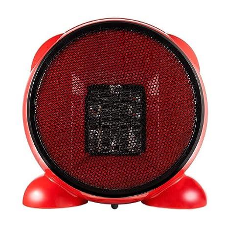 Ventilador Calefactor Eléctrico Casero Portátil, Oficina Calentador Eléctrico, Bajo Consumo De Energía 500W,