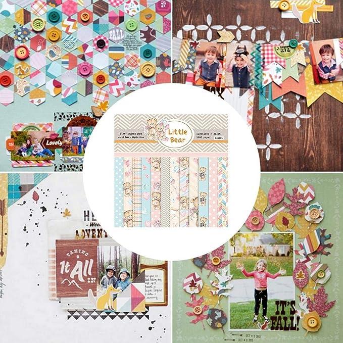 Zzzweny Coffret Cadeau D/écoupage Pochoir Bricolage Scrapbooking Gaufrage Album Papier Carte Artisanat