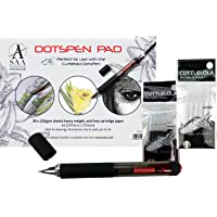 Special Offer: DotsPen & Black and a White Refill Pack & A4 Dotspen Pad Free