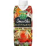 カゴメ 野菜生活100 Smoothie(スムージー) オレンジざくろ&ヨーグルトミックス 330ml×12本
