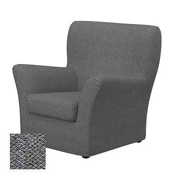 Soferia - IKEA TOMELILLA Funda para sillón, Nordic Grey ...