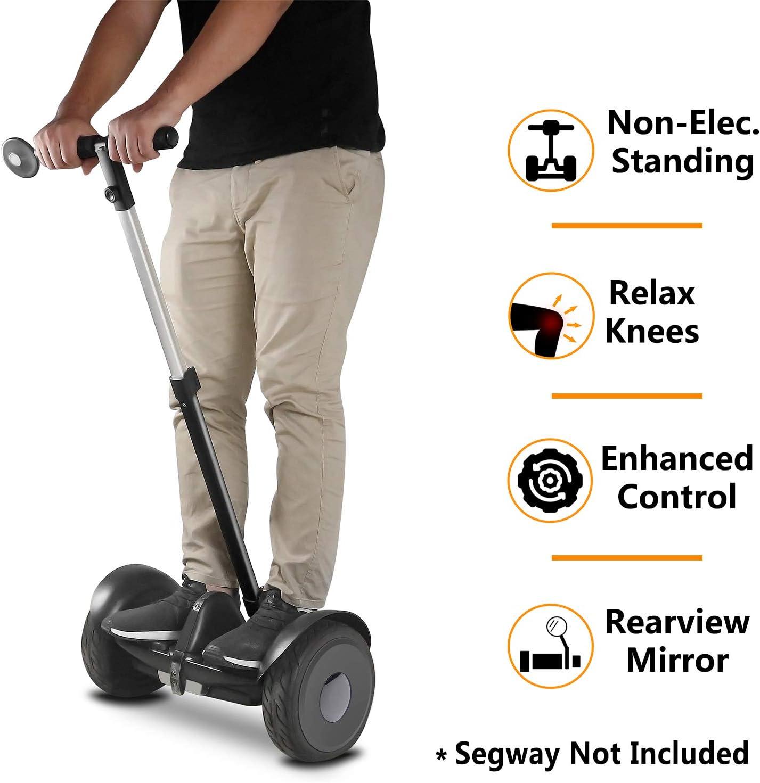 Adjustable Height Safety Aceessories 1 Kit Release Knee Pressure AUBESTKER Handlebar Kickstand for Segway Ninebot