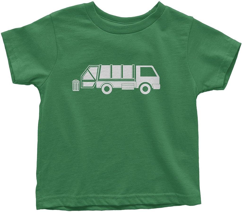 Threadrock Kids Garbage Truck Toddler T-Shirt