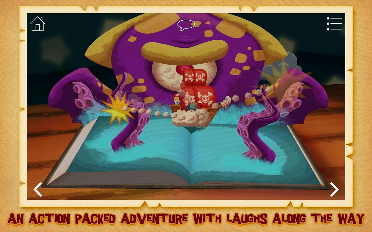 La princesa pirata ~ Libro Pop-Up interactivo en 3D: Amazon.es ...