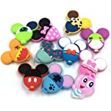 11pcs Cute Balloon Shape shoe charms Fits for Croc Shoes & Wristband Bracelet Party Gifts