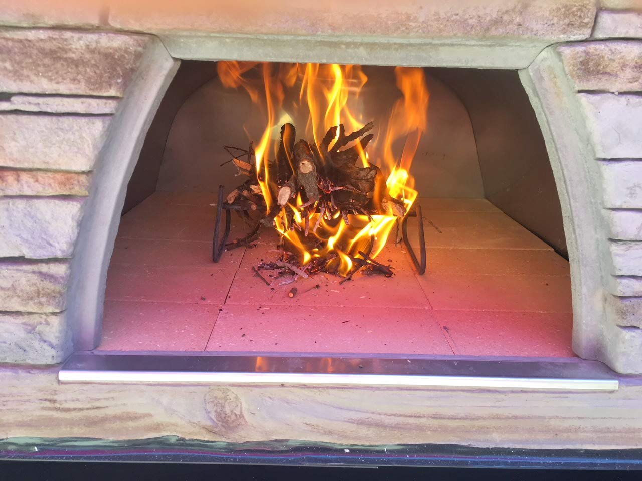 Authentic Pizza Ovens - Prime Large Wood Fire Oven Red ... by Authentic Pizza Ovens