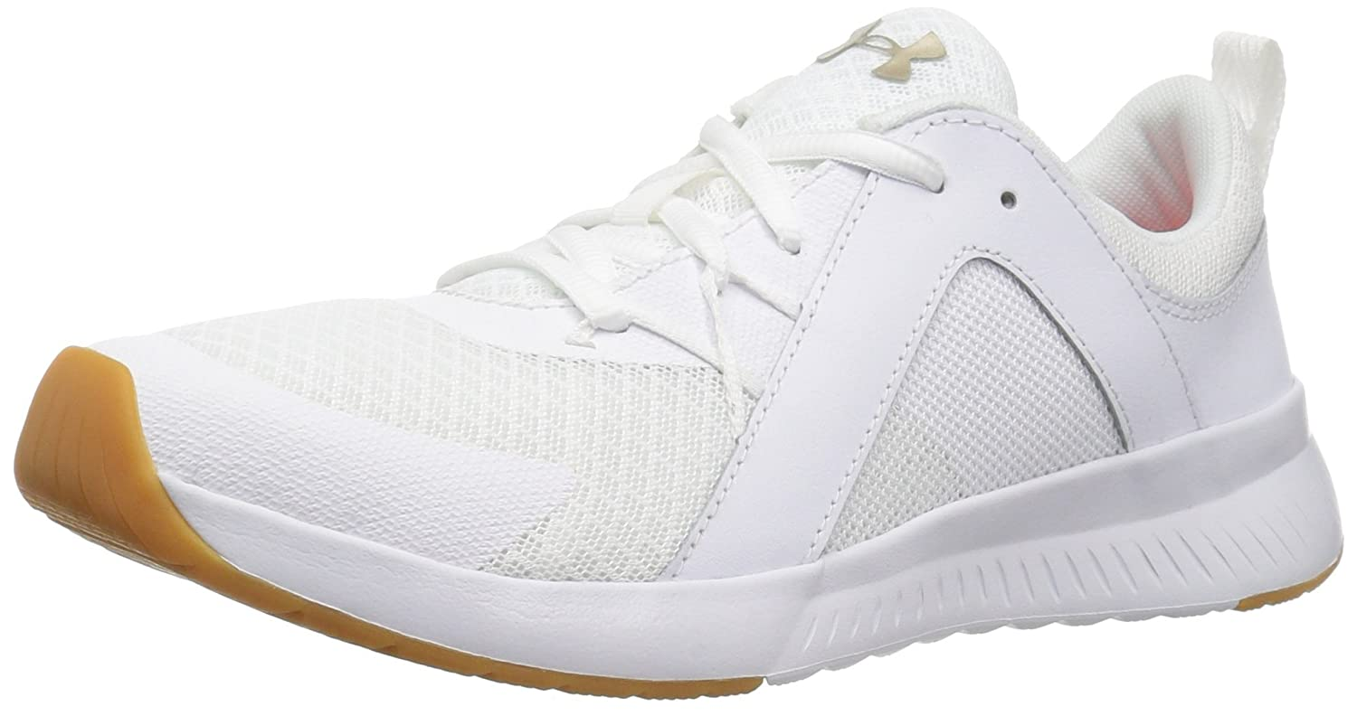 Under Armour Women's Intent Trainer Sneaker B07743D8W8 9 M US|White (101)/White
