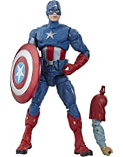 "Avengers Marvel Legends Series Endgame 6"" Collectible Action Figure Captain America Collection, Includes 1 Accessory"