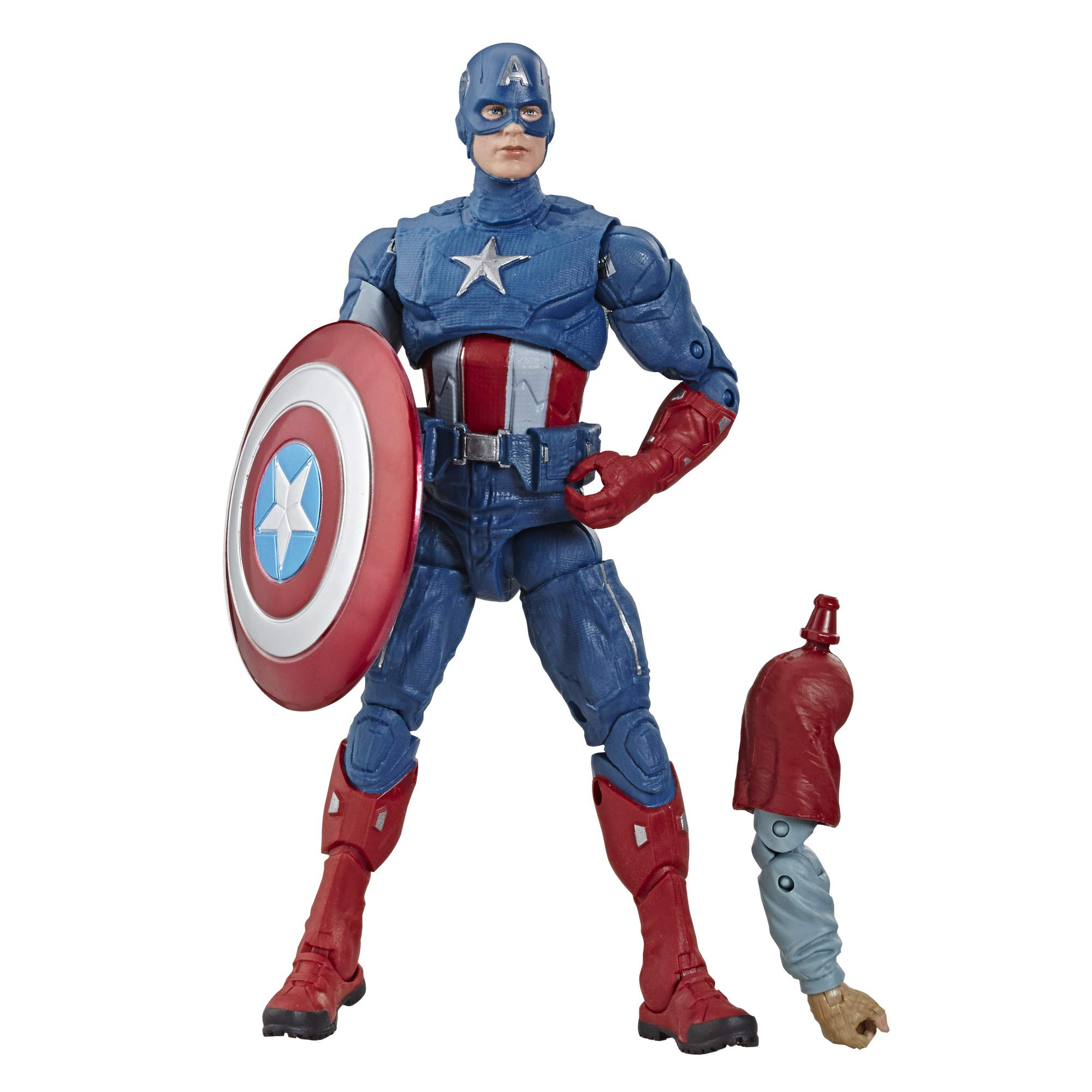 Avengers Marvel Legends Series Endgame 6'' Collectible Action Figure Captain America Collection, Includes 1 Accessory