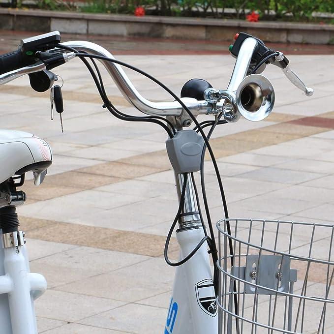 TRIXES Bocina Estilo Retro Corneta Clásica para Bicicleta: Amazon.es: Juguetes y juegos