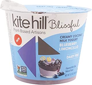 product image for Kite Hill Blissful Blueberry Limoncello Cooconut Yogurt, 5.3 Oz (Pack Of 8)